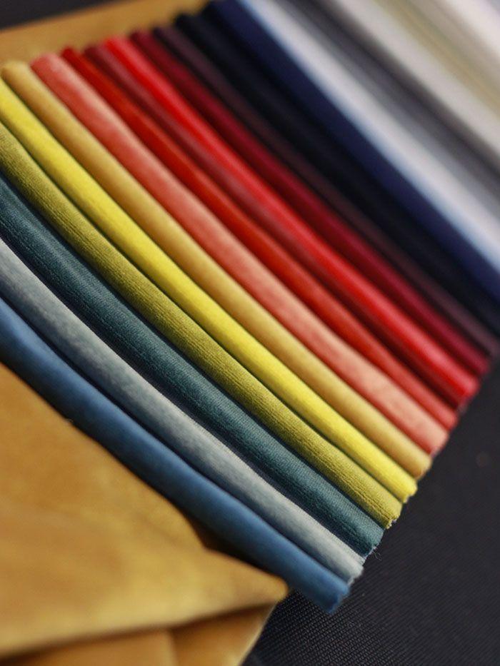 velours uni couleurs