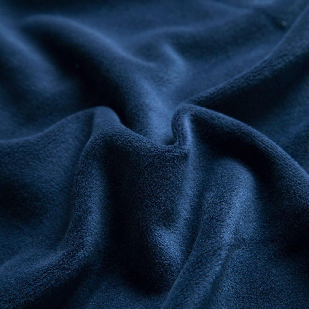 velours valentino navy blue