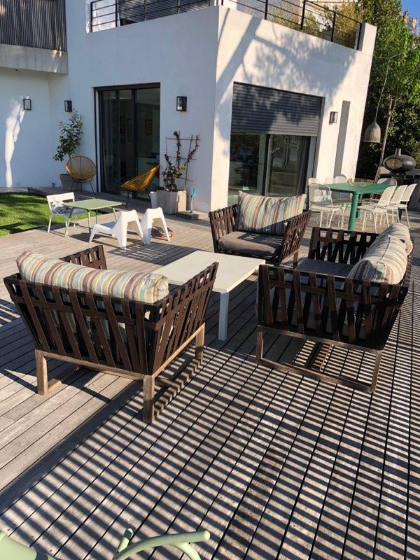 Banquette terrasse rénovée AGORA